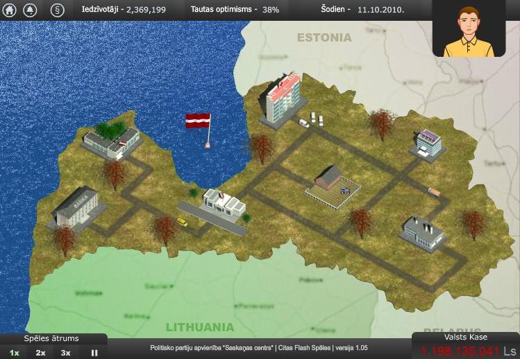 Latvija: Restarts
